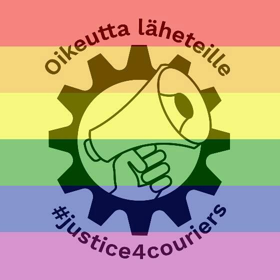 Full support to LGBTQIA couriers, no to pinkwashing!